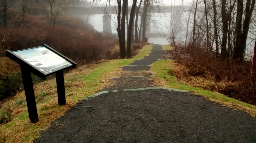 River access at Muncy Heritage Park and Nature Trail.